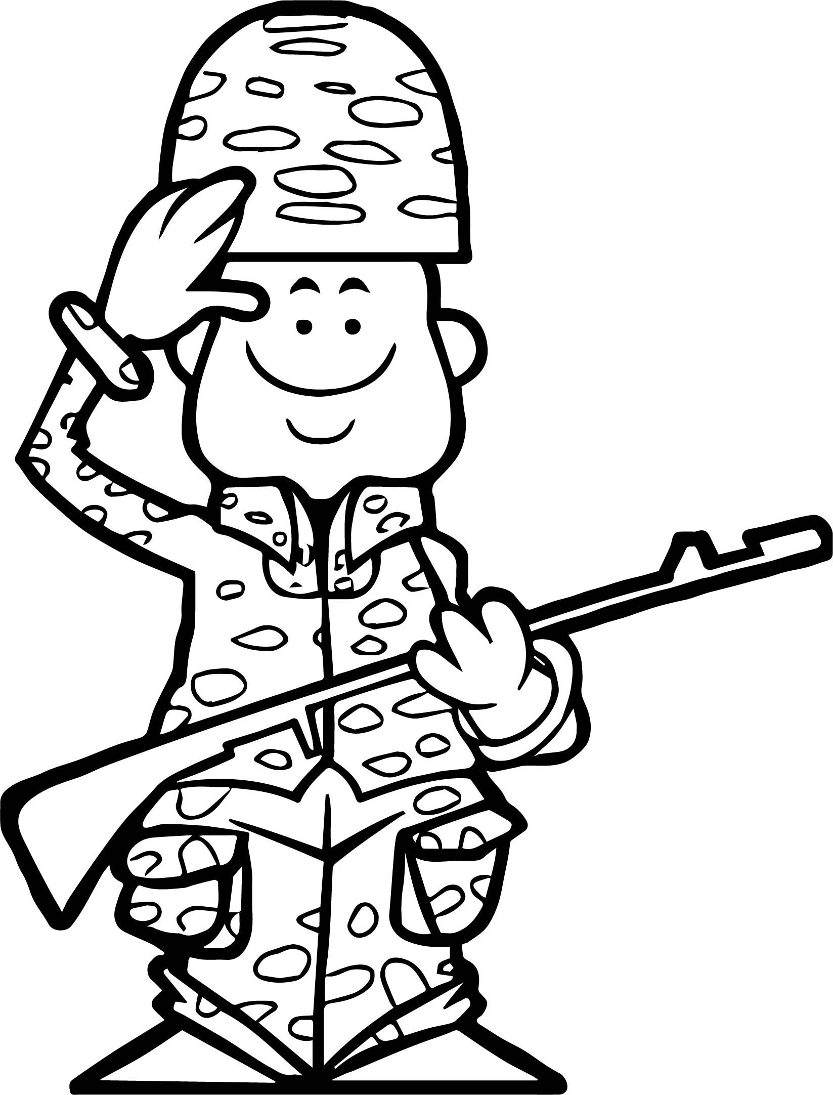 Cool Ready Soldier Coloring Page Coloring Pages Coloring Books Army Colors