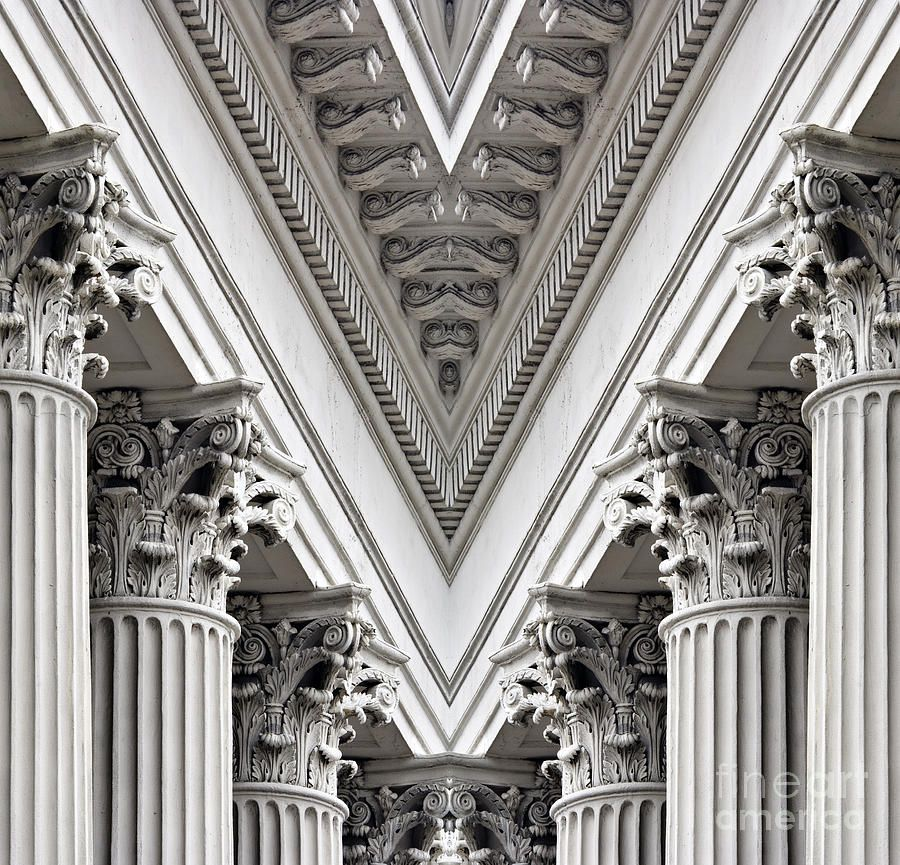 Set of Corinthian Columns - Download Free Vector Art, Stock Graphics