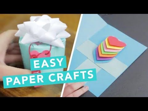 3d Pop Up Card Nailed It Youtube Paper Crafts Easy Paper