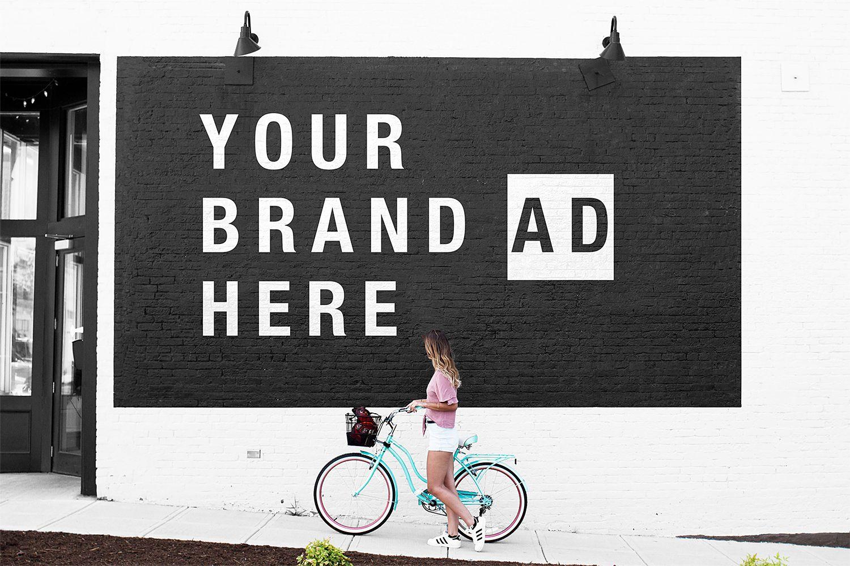 Download Street Wall Mural Mockup Free Mockup Graphic Design Freebies Mockup Free Psd Design Freebie