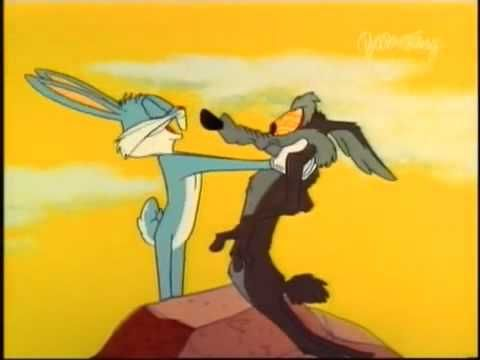 Looney Tunes Wile E Coyote And Bugs Bunny