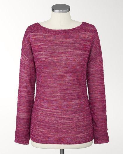 Colorweave sweater