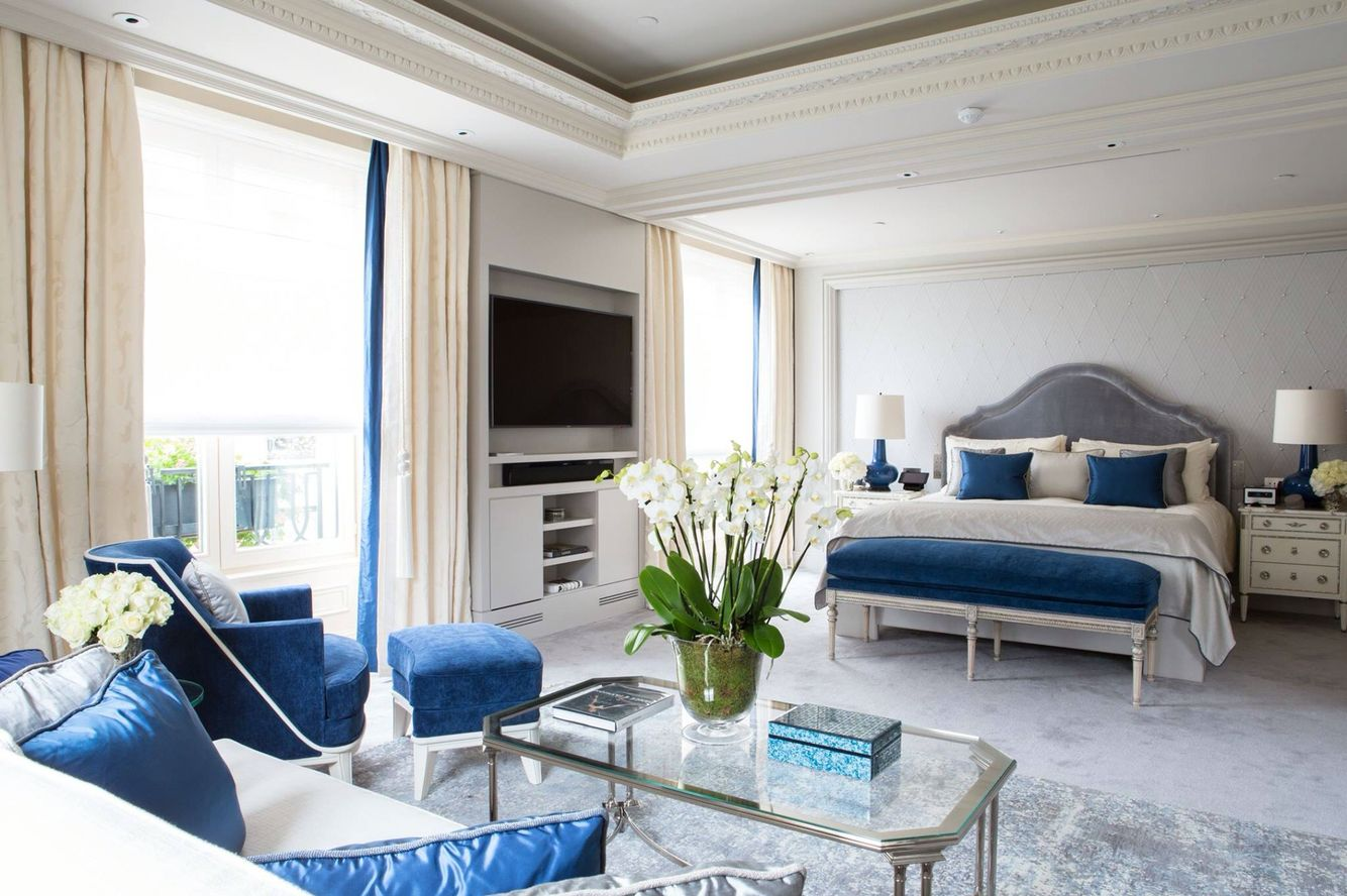 Pin by Margaret Johnson on For the Home Luxury hotel bedroom