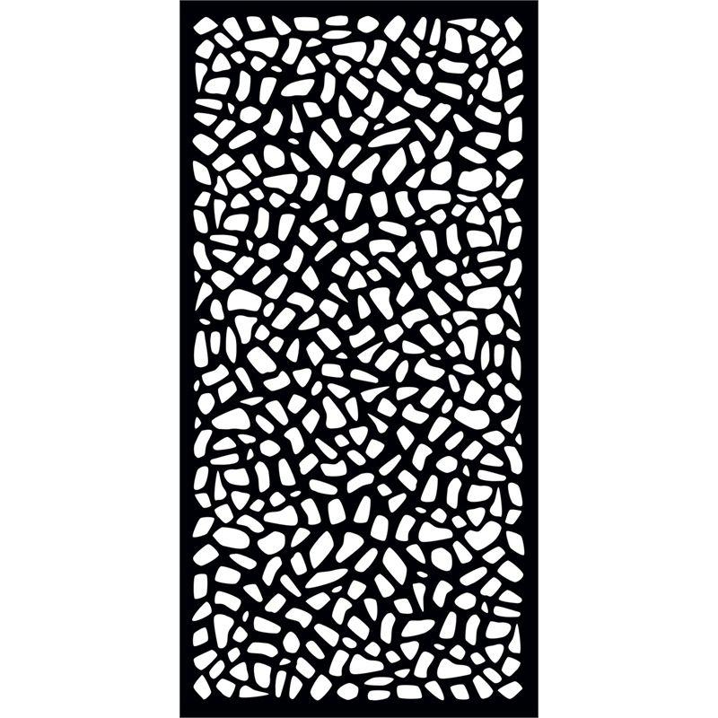 Matrix 1800 x 900 x 7mm charcoal riverbank d cor screen panel d coupe laser motifs for Deco laser maison