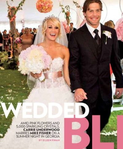 Favorite Celebrity Wedding Gowns | Celebrity wedding gowns, Carrie ...