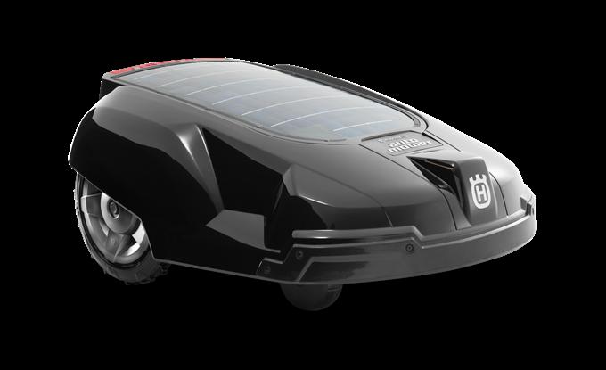 Automower Solar Hybrid World S First Fully Automatic Solar Powered Lawn Mower Lawn Mower Mower Solar Power