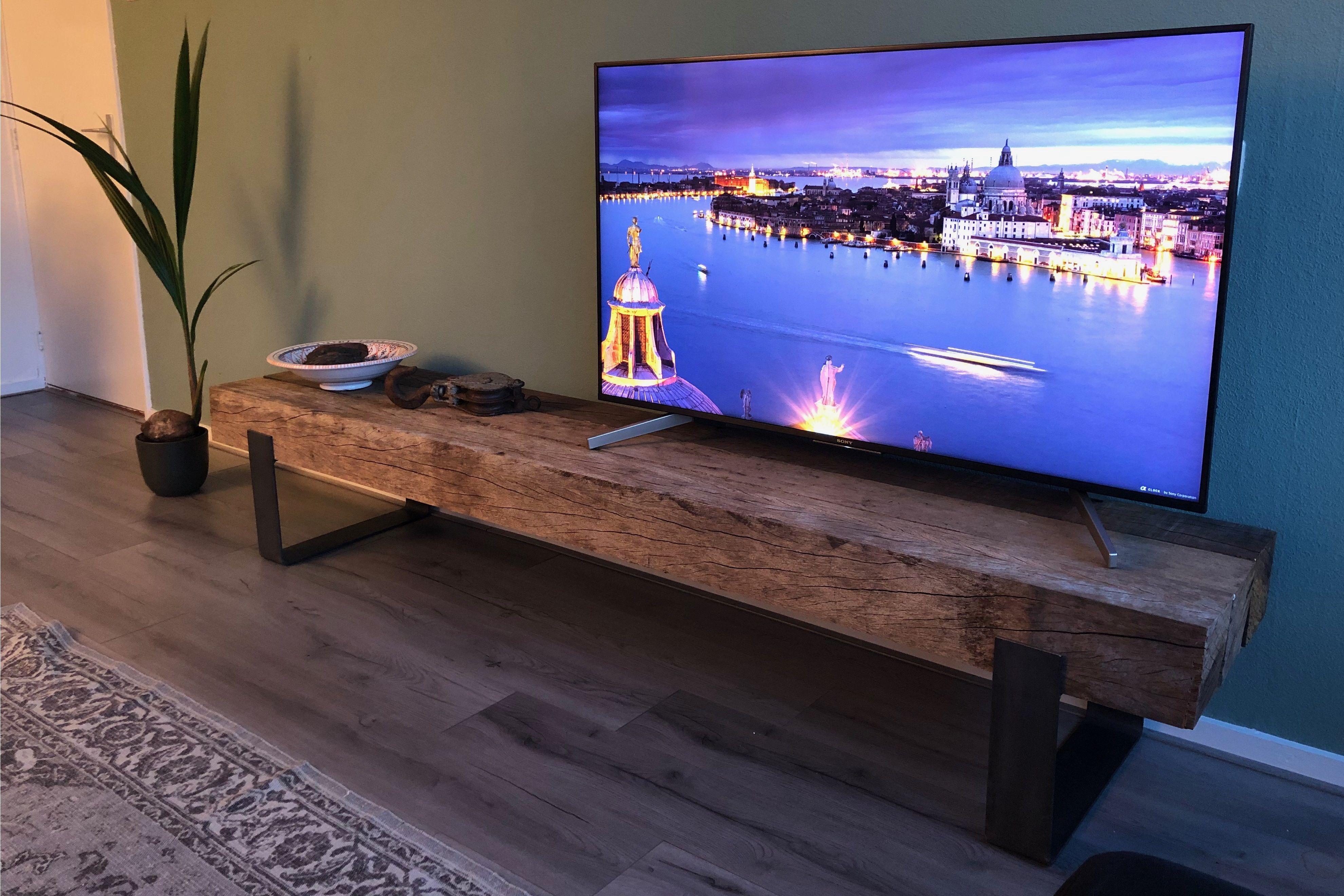 Hardhouten Tv Kast.Uniek En Op Maat Gemaakt Tv Meubel Van Tropisch Hardhouten
