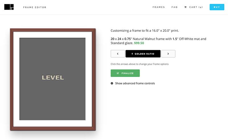 Level frames = print + mat + frame. Skimm discount?   Products I ...
