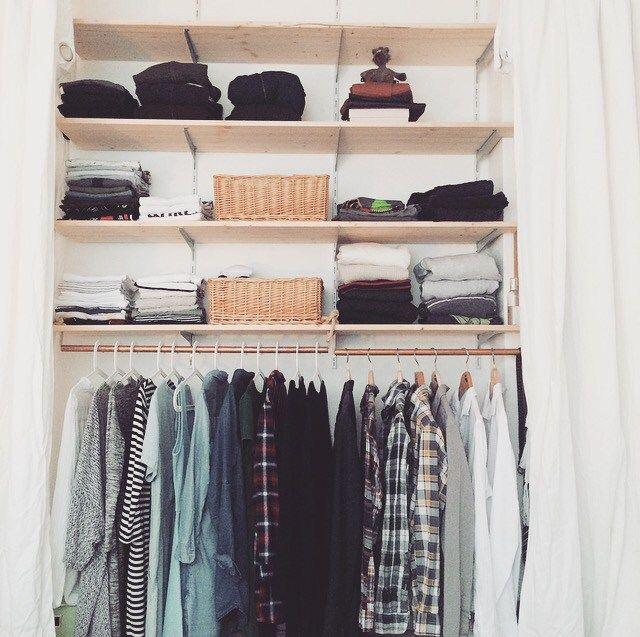 Schlafzimmer Makeover Teil 1 das Kleiderschrank-Projekt \u2013 THEO UND