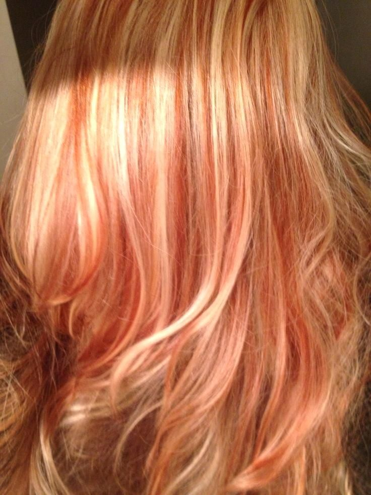 21 Stunning Copper Hair And Blonde Lowlights Hairstyle Ideas Seventwin Platinum Blonde Hair Hair Highlights Red Hair With Blonde Highlights