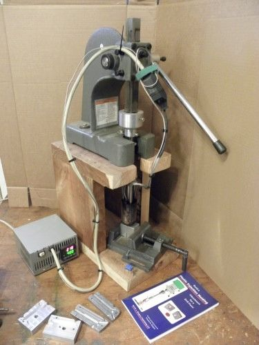 Injection Molding Machine by scorch -- Homemade plastic