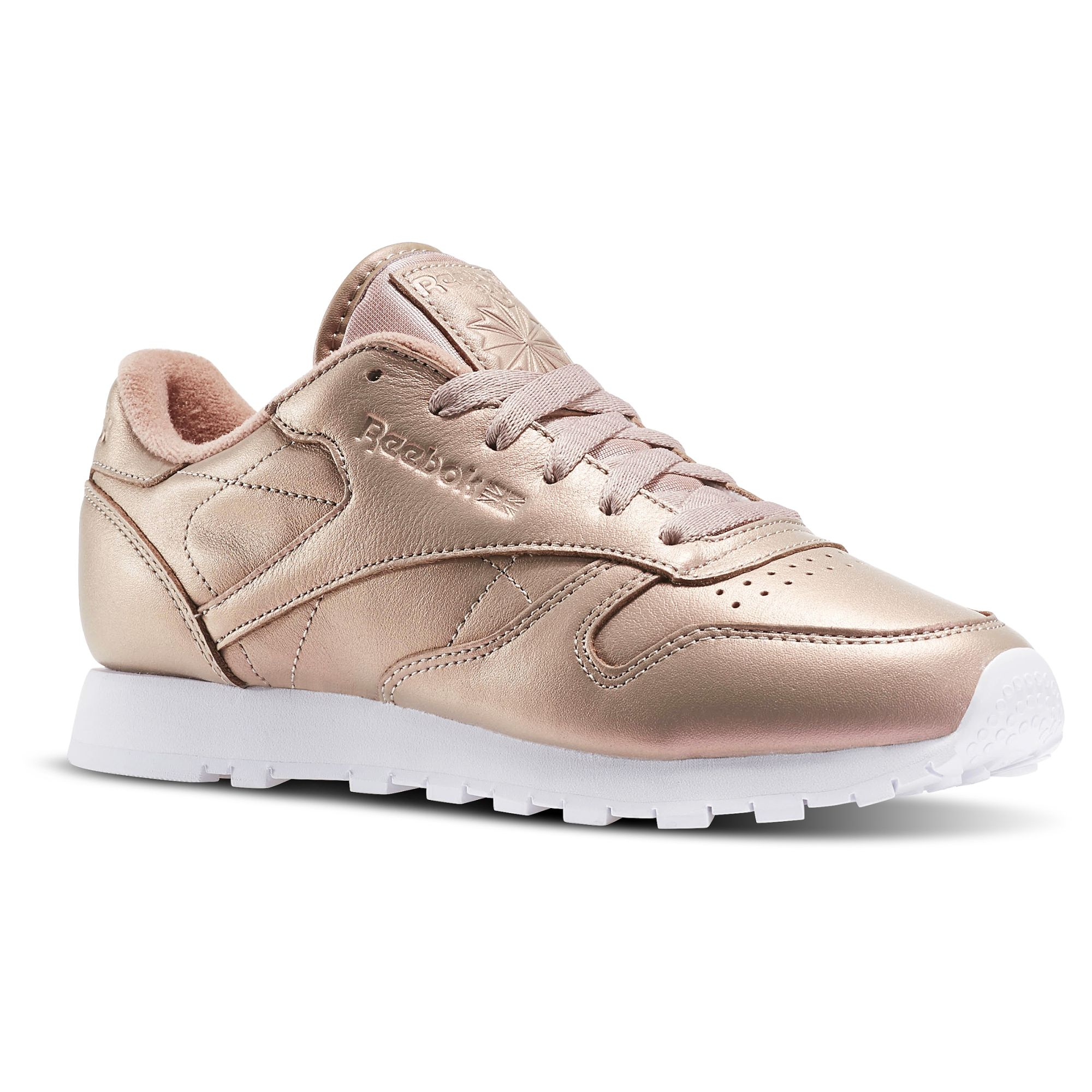 Reebok Classic Leather Pearlized Gold! Dieses und viele