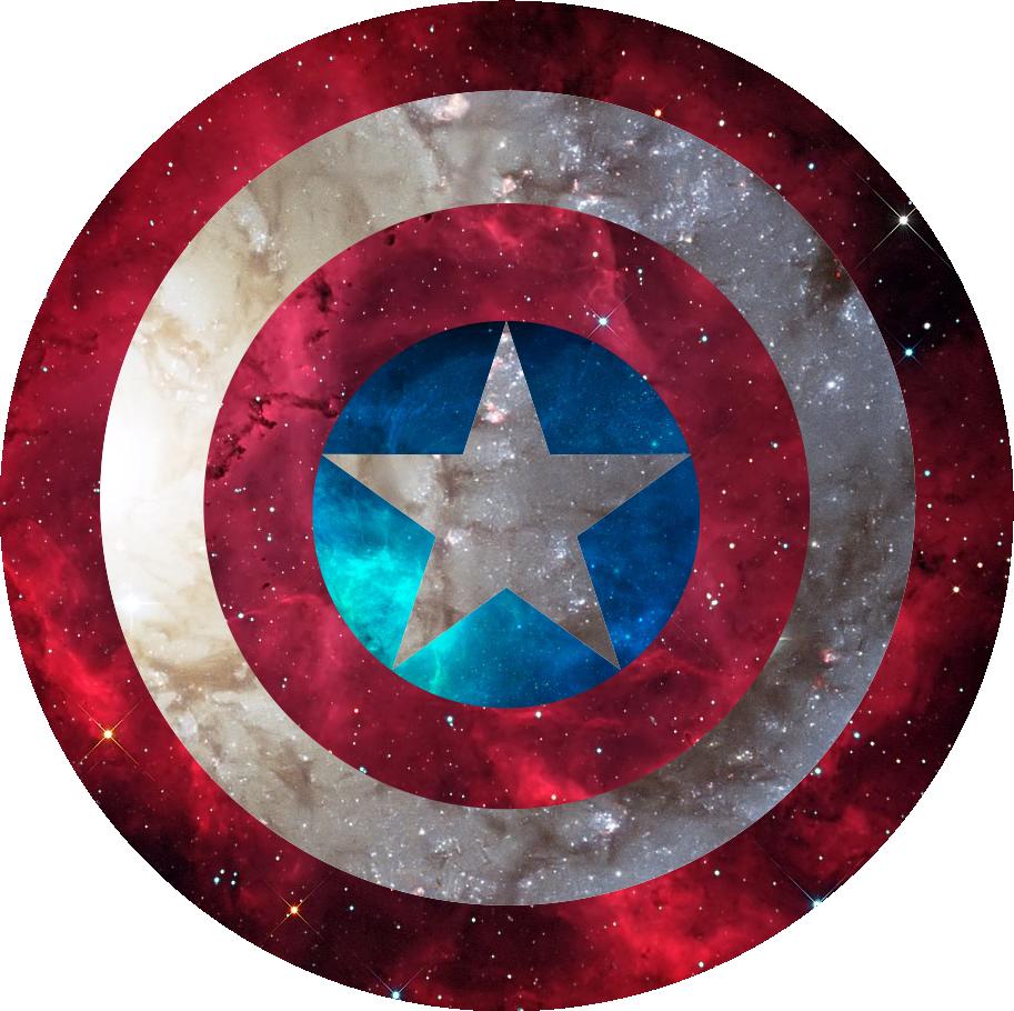 Escudo  Capitan America  juan nito  Pinterest  Escudo capitan