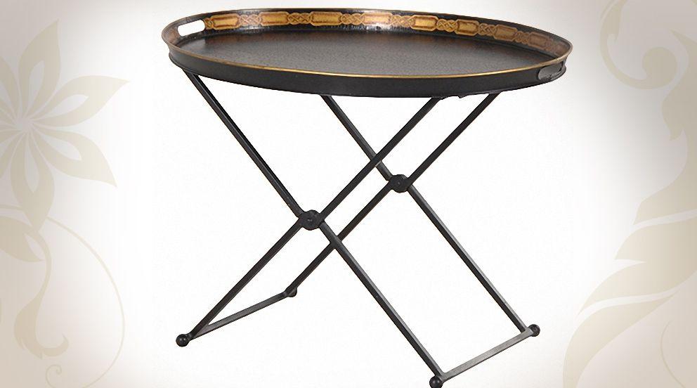Table basse marocaine avec grand plateau ovale mobilier tables