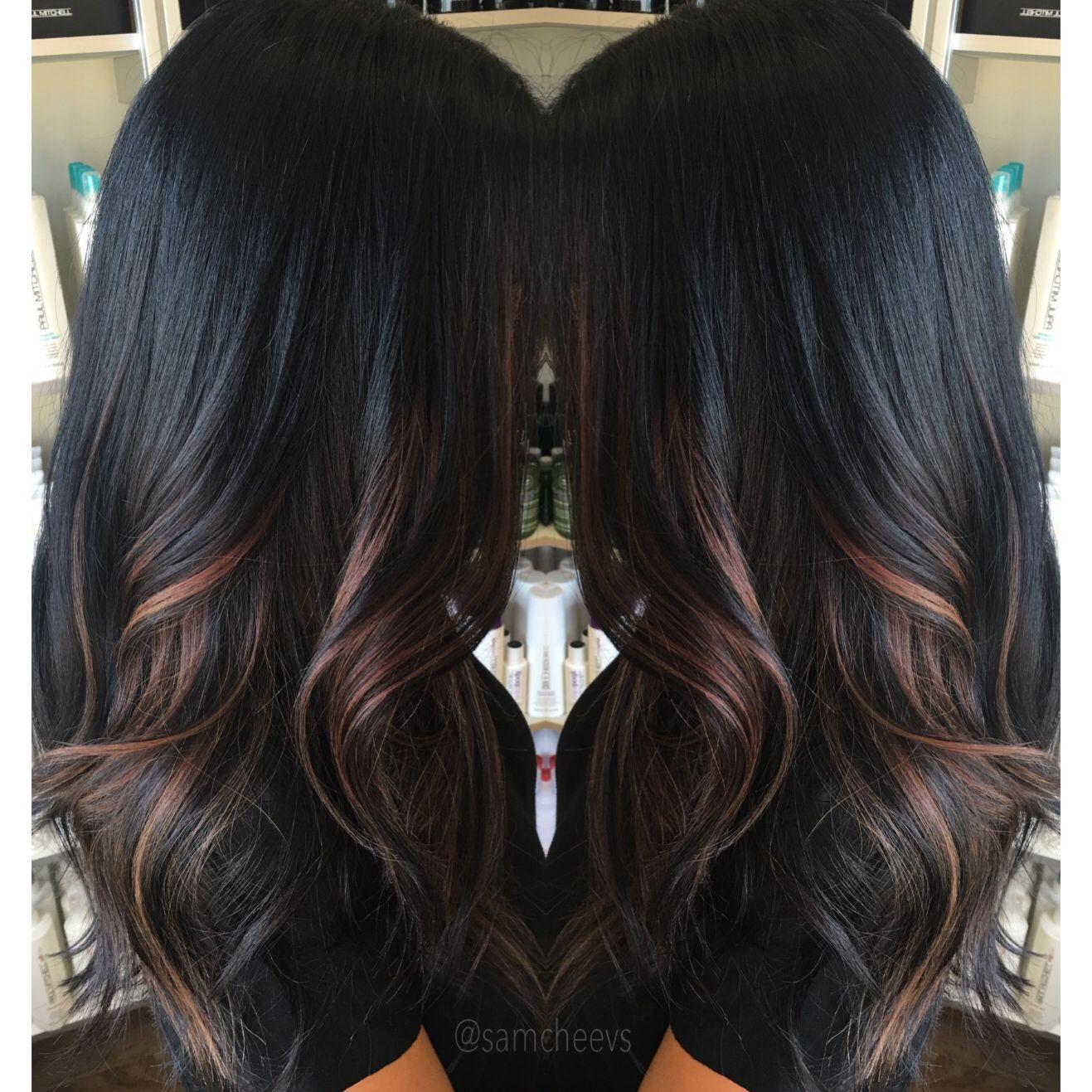 Highlights for black hair | Hair Tips & Hair Care in 2019 ...