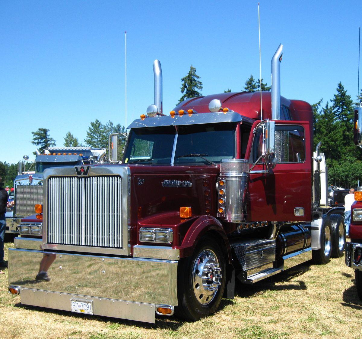 Western Star Lowmax Custom Western Star Trucks Trucks Big Trucks