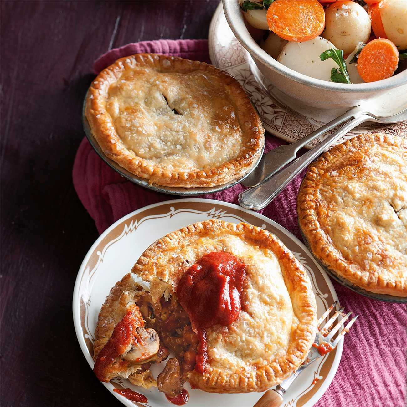 Online Supermarket | Recipe | Recipes, Steak pie, Food