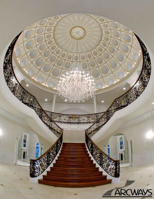 Best Italian Villa Style Mansion With Huge Dome Ceiling T 400 x 300