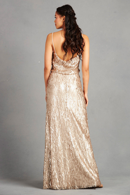 Wedding dresses dillards  courtney toffee back  Bridesmaid Dresses  Pinterest  Donna morgan
