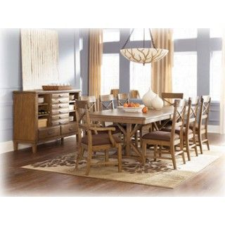 Attirant Ashley Furniture Signature Design Danbury Heights Rect Drm Extension Table  Top At Big Sandy Superstore