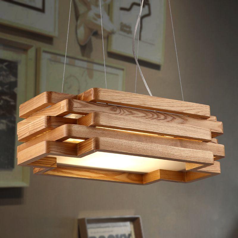 20 Creative Diy Wood Light Fixtures Wood Light Fixture Diy