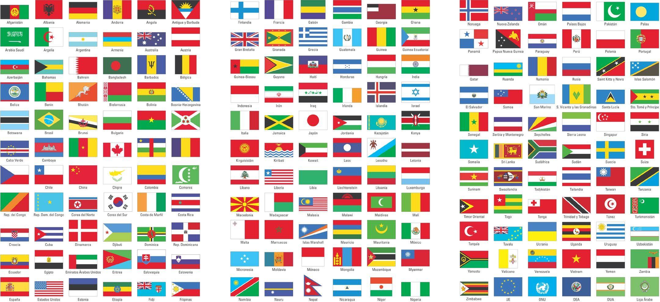 Banderas Del Mundo Infografia Banderas Del Mundo Banderas Mundo