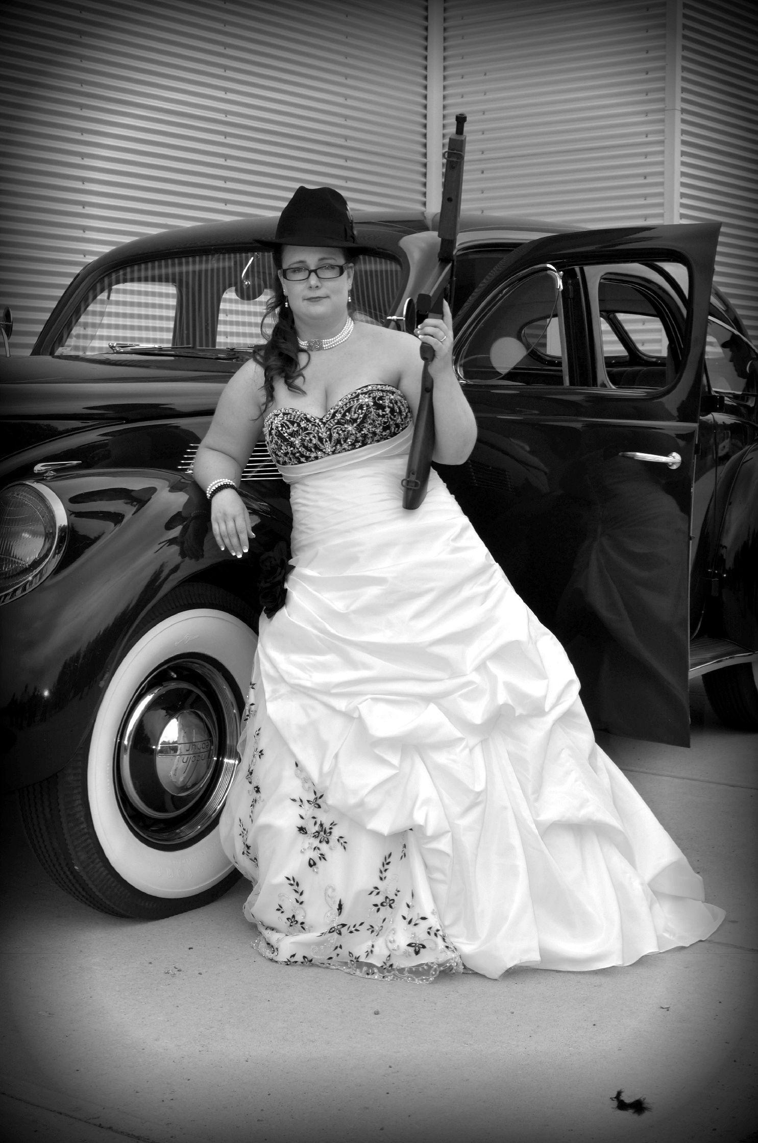 Gangster bride my 1920s gangster wedding my real