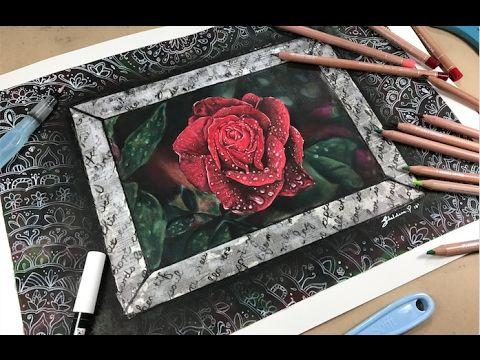 Secret Love Letter (A Valentines Collaboration) - Channel Sheldene Fine Art - YouTube