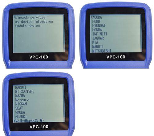 VPC-100 Car Pin Code Calculator VPC100 Car key Pin Code
