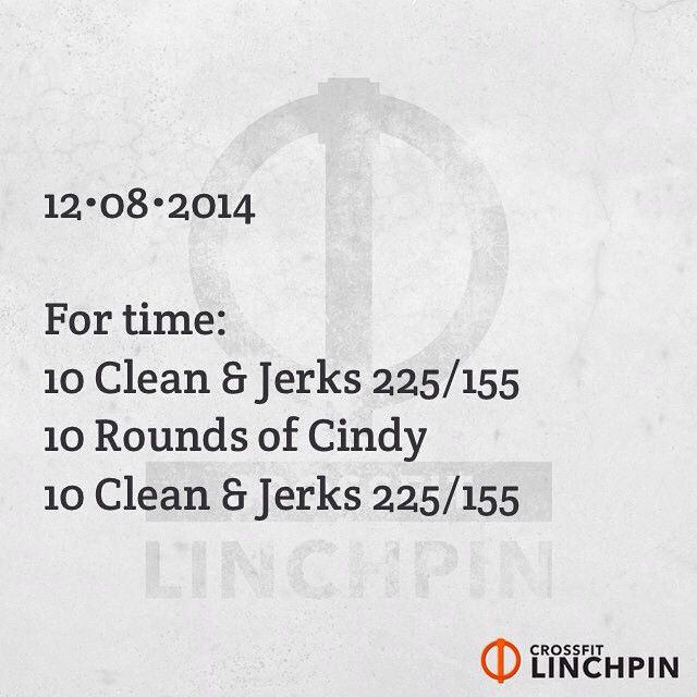 crossfitlinchpin's photo on Instagram