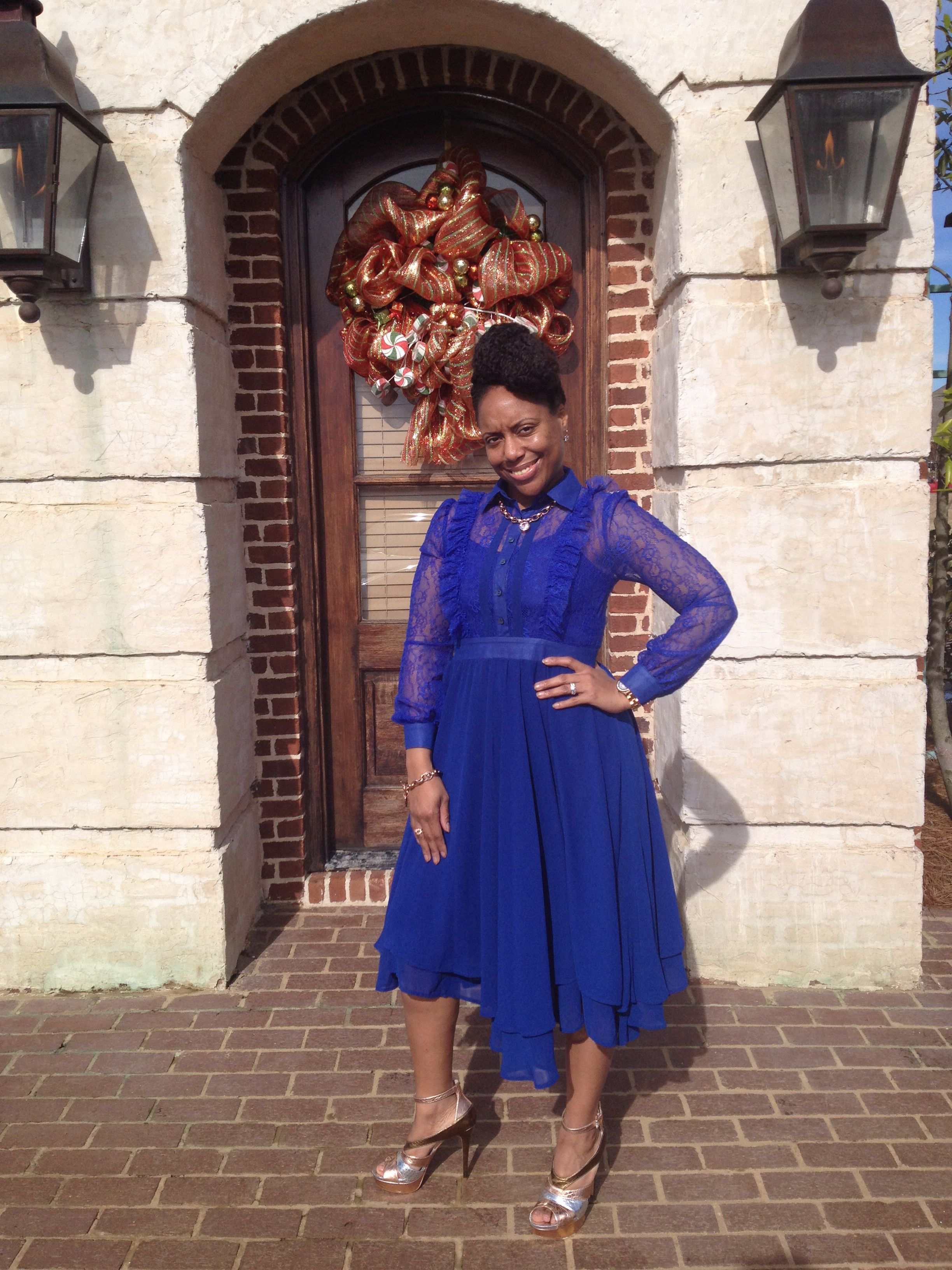 Me And My Attire Is From Fondren S Fashion House Fashion Dresses Academic Dress