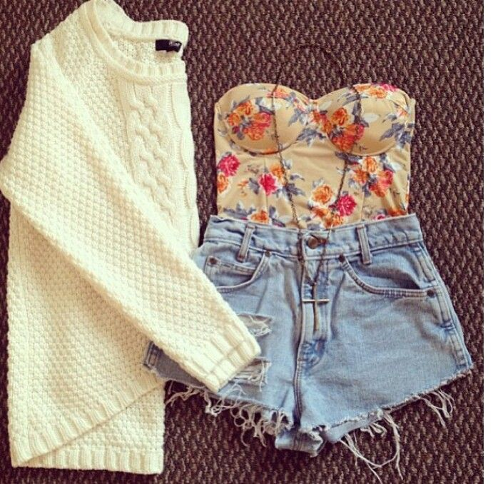 Cute way to wear your high wasties:)