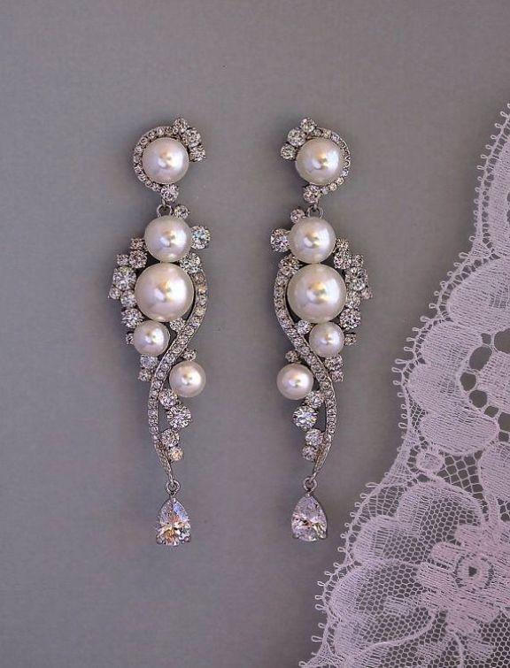 Dangle Diamond Earrings Ebay Nice