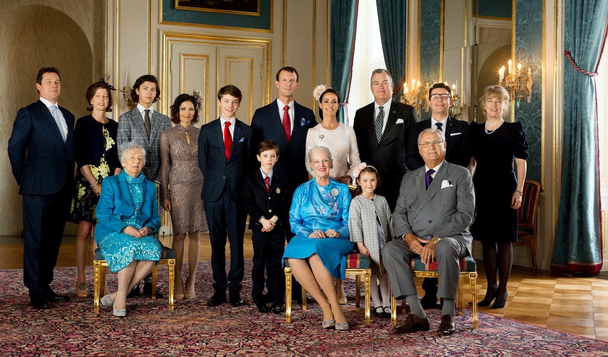 Official Photos Of Hh Prince Felix S Confirmation Konfirmation