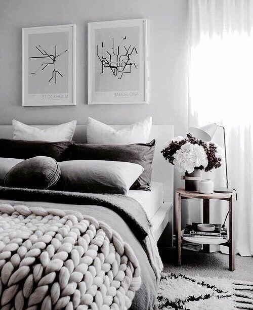 Home Bedroom And Bed Image Mit Bildern Wohnung Schlafzimmer