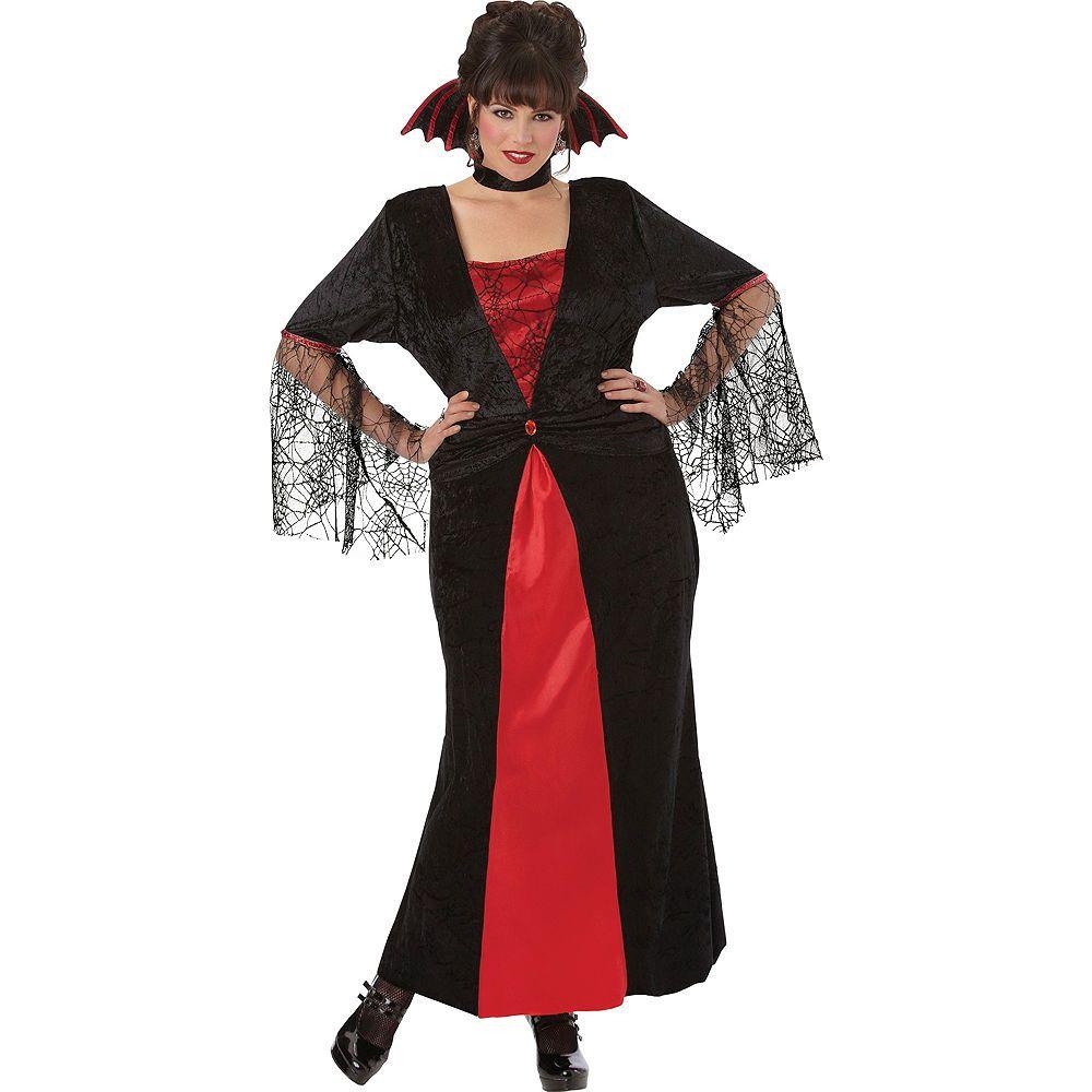 Adult Countess Vampiretta Vampire Costume Plus Size | Plus ...