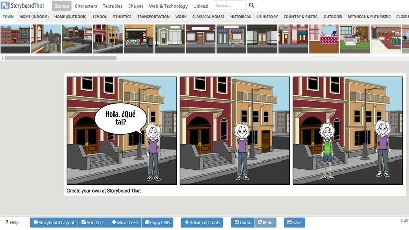 Storyboard Creator es una aplicación web gratuita con la que podemos crear fácilmente tiras cómicas. También dispone de una versión Premium más completa.