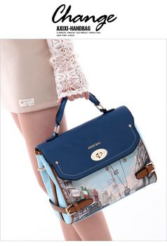 Free shopping 2013 vintage flower printed bag messenger bag female handbag crossbody bags