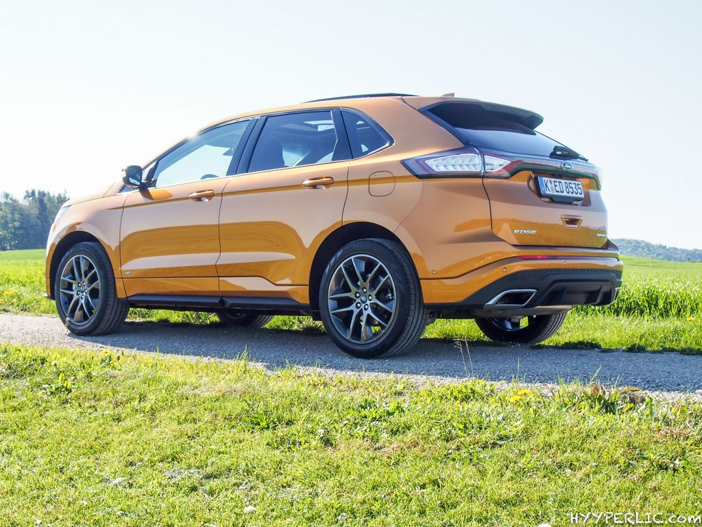Ford Edge Sport In Electric Spice
