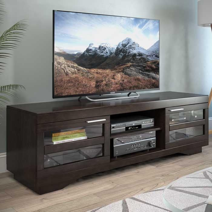 Mocha Brown 65 Inch Tv Stand Granville 65 Inch Tv Stand Tv Stand Flat Panel Tv Tv stand 65 inch