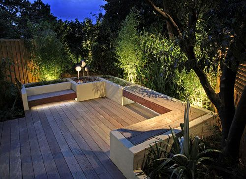 Artistic Outdoor Garden Lighting Design Pictures Jardines y - jardines en terrazas