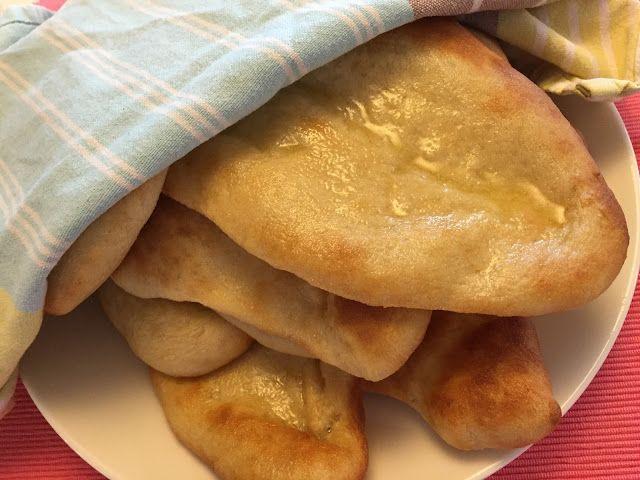 Voita ja Suolaa: Naanleipä