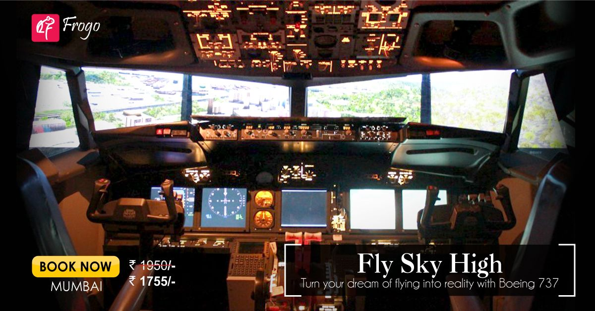 If you crave to take controls of the flight from the cockpit itself, you are in luck - Have first hand #flying experience of a #Boeing737 with Flight 4 Fantasy. With professional guidance, you will be a Pilot, flying a plane.