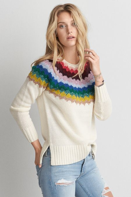 American Eagle Outfitters AE Ahh-mazingly Soft Pullover Sweater ... a5529e24a