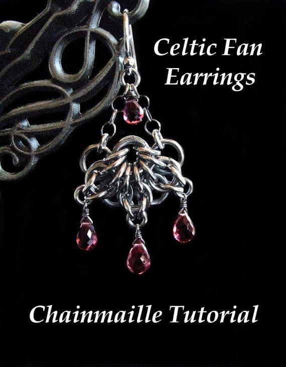 Chainmail tutorial for celtic fan earrings pdf instructions only chainmail tutorial for celtic fan earrings pdf instructions only chainmaillejewelry making tutorialsfanamerican wire gaugecelticearringsaspect keyboard keysfo Choice Image