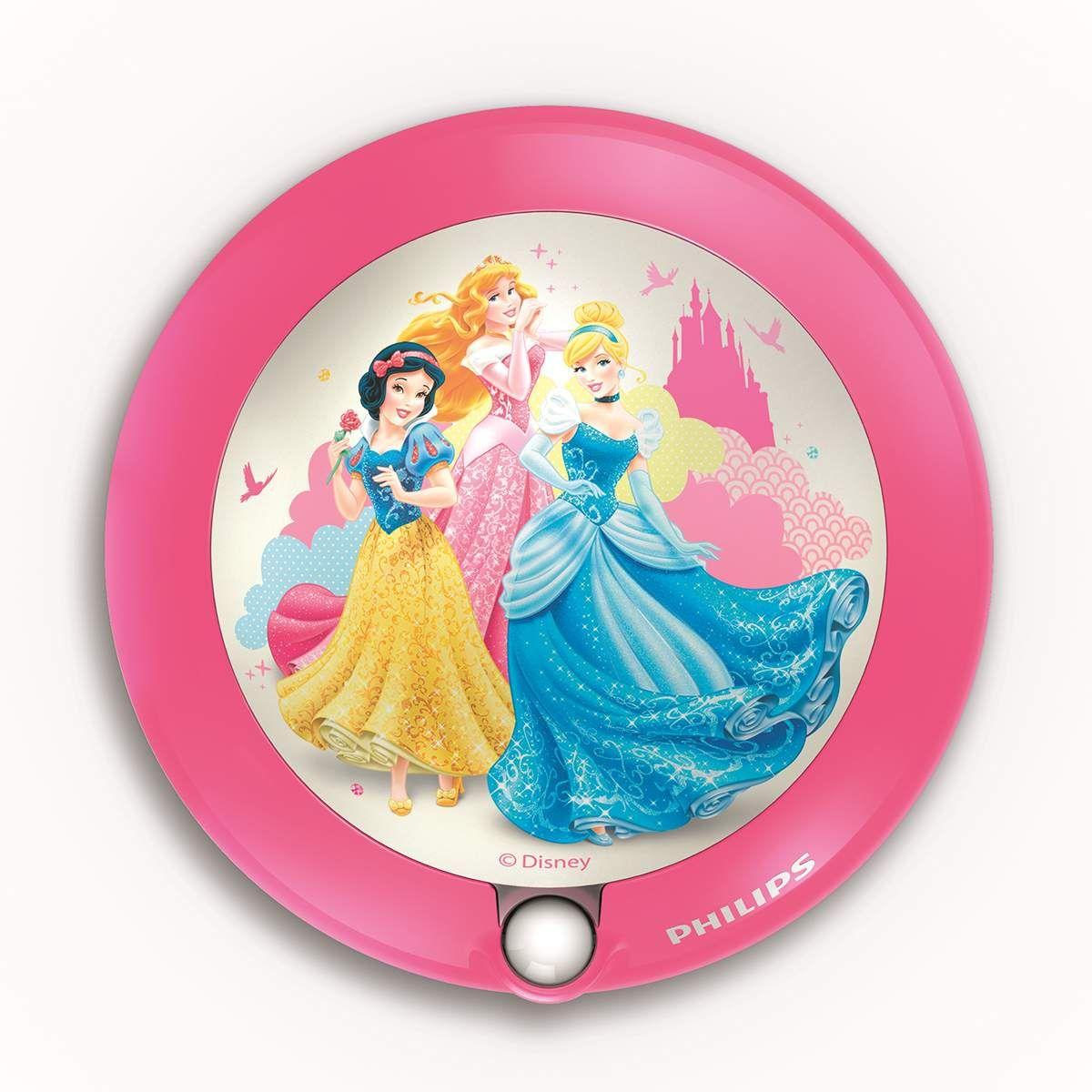 717602816 rosa Philips Disney LED Deckenleuchte Princess 4 W