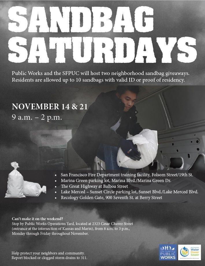 Sandbag Saturdays 1192015 Flyer Public, The