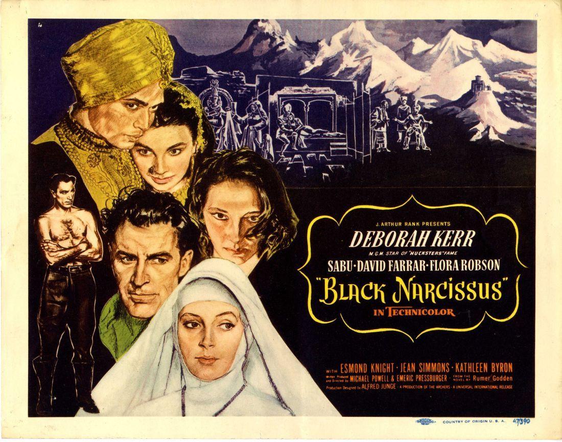 Black Narcissus 1947 Deborah Kerr Narcissus Jean Simmons