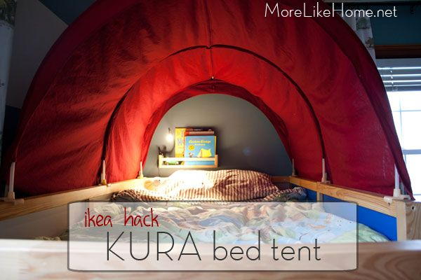 Ikea Hack Kura Bed Tent Makeover D S Room Ikea Bed