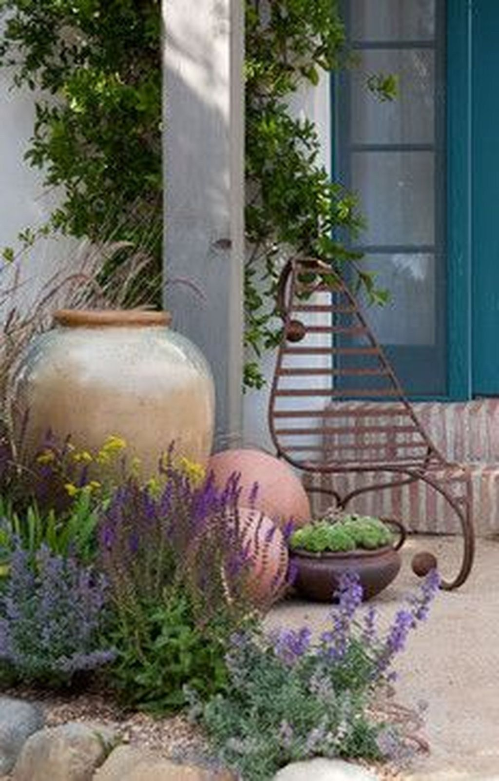 50 + Inspiring Small Courtyard Garden Design for Your House #smallcourtyardgardens
